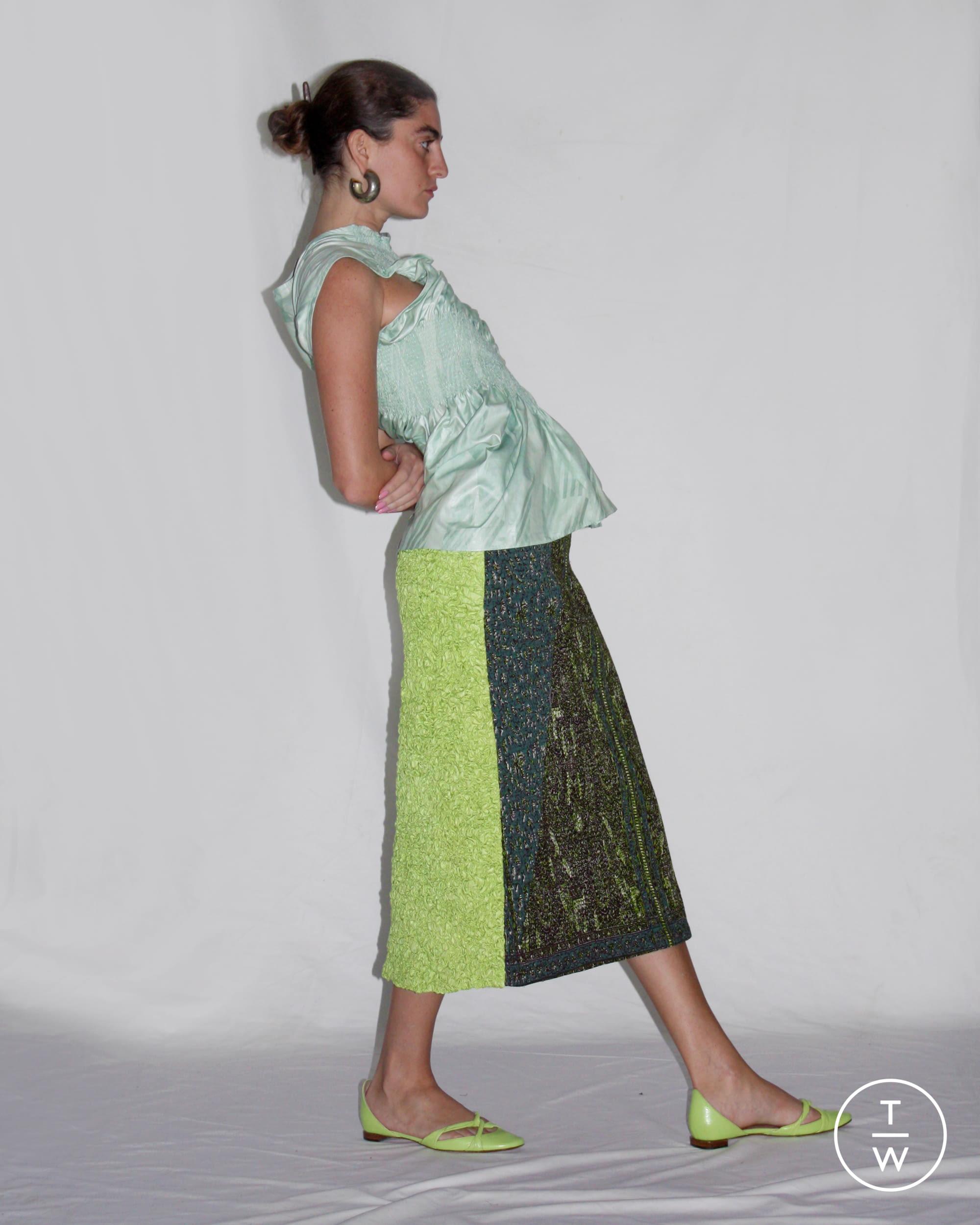 Tappezzeria Trompe L Oeil super yaya ss20 womenswear #7 - the fashion search engine
