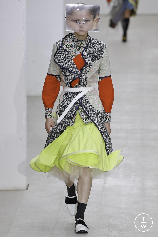 Joyce Concept Girls Wrapped Stripe Zip-Up Hoodie
